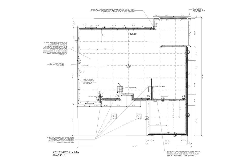 134 concrete slab plans shed plans on concrete slab for Concrete slab plans